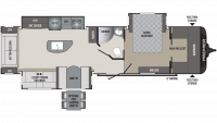 2020 Premier 34RIPR Floor Plan