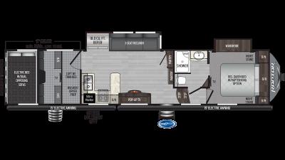 2020 Raptor 351 Floor Plan Img