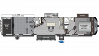 2020 Raptor 415 Floor Plan