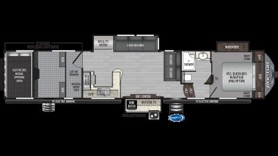 2020 Raptor 423 Floor Plan Img