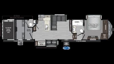 2020 Raptor 425TS Floor Plan Img