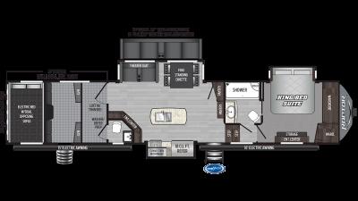 2020 Raptor 426TS Floor Plan Img