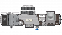 2020 Raptor 426TS Floor Plan