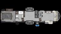 2020 Raptor 427 Floor Plan