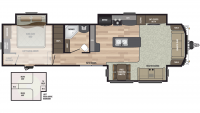 2020 Residence 401LOFT Floor Plan
