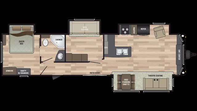 2020 Residence 401MBNK Floor Plan