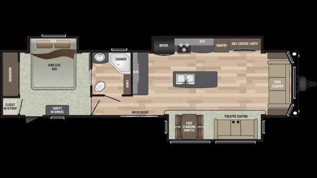 2020 Residence 401MKTS Floor Plan