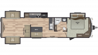 2020 Residence 401RDEN Floor Plan