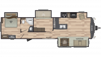 2020 Residence 40MBNK Floor Plan