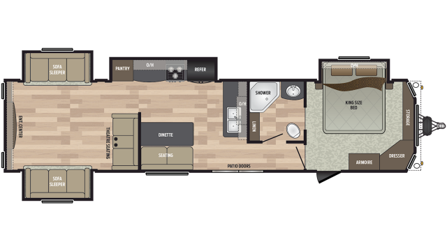 2020 Residence 40RDEN Floor Plan