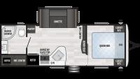2020 Springdale 235RB Floor Plan