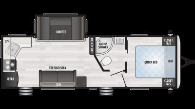 2020 Springdale 262RK Floor Plan Img