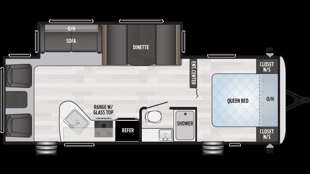 2020 Springdale 266RL Floor Plan
