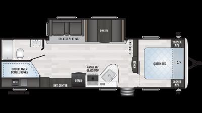 2020 Springdale 270BH Floor Plan Img