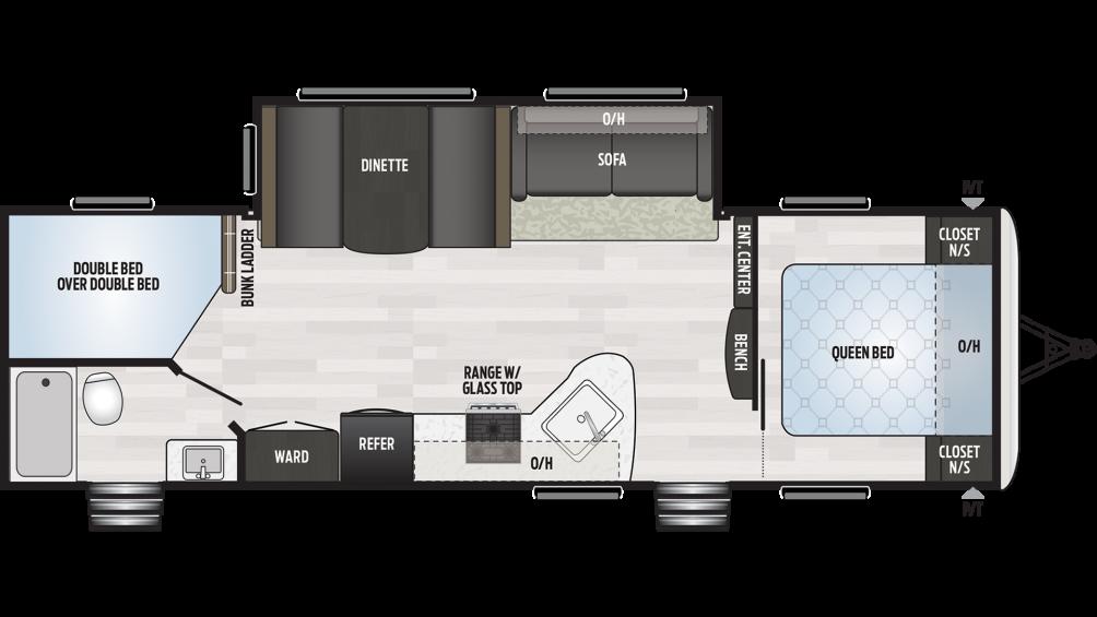 2020 Springdale 282BH Floor Plan Img