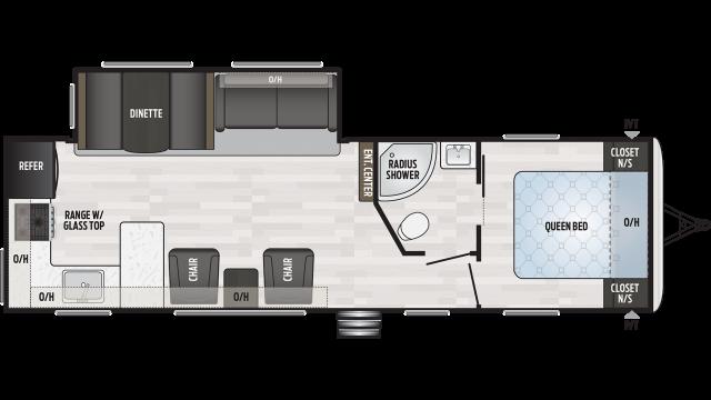 2020 Springdale 293RK Floor Plan