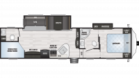 2020 Springdale 300BH Floor Plan