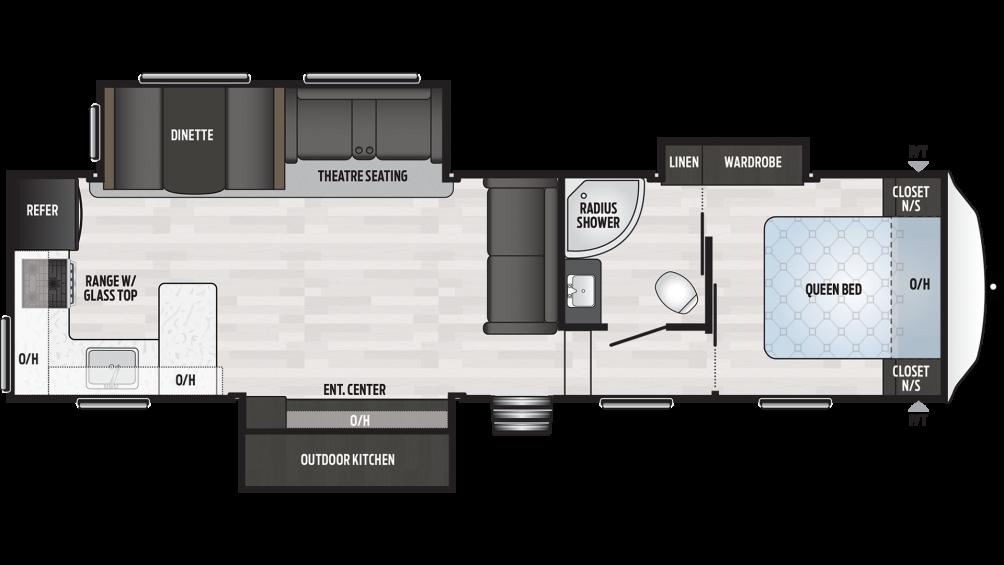 2020 Springdale 302RK Floor Plan Img
