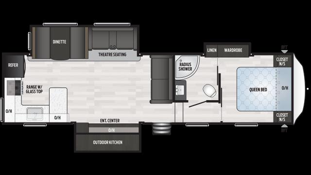 2020 Springdale 302RK Floor Plan