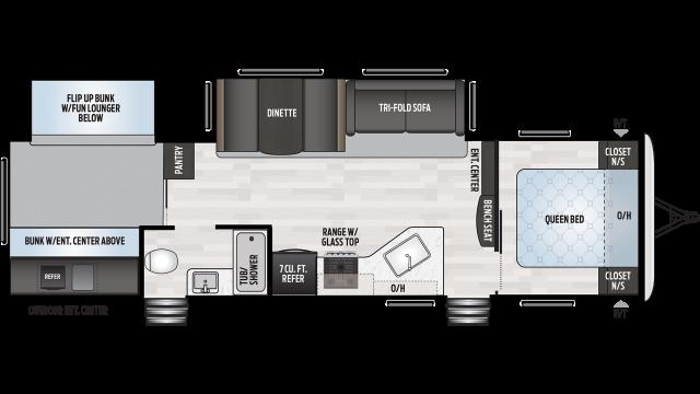2020 Springdale 303BH Floor Plan