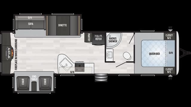 2020 Springdale 311RE Floor Plan
