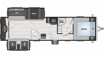 2020 Springdale 311RE Floor Plan Img