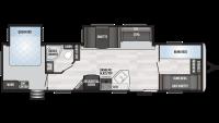 2020 Springdale 38BH Floor Plan