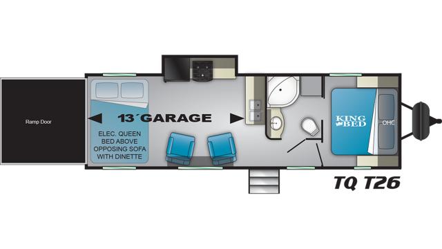 2020 Torque XLT T26 Floor Plan
