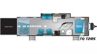 2020 Torque XLT T285 Floor Plan