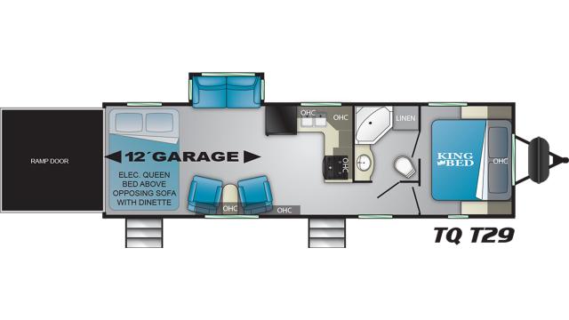 2020 Torque XLT T29 Floor Plan