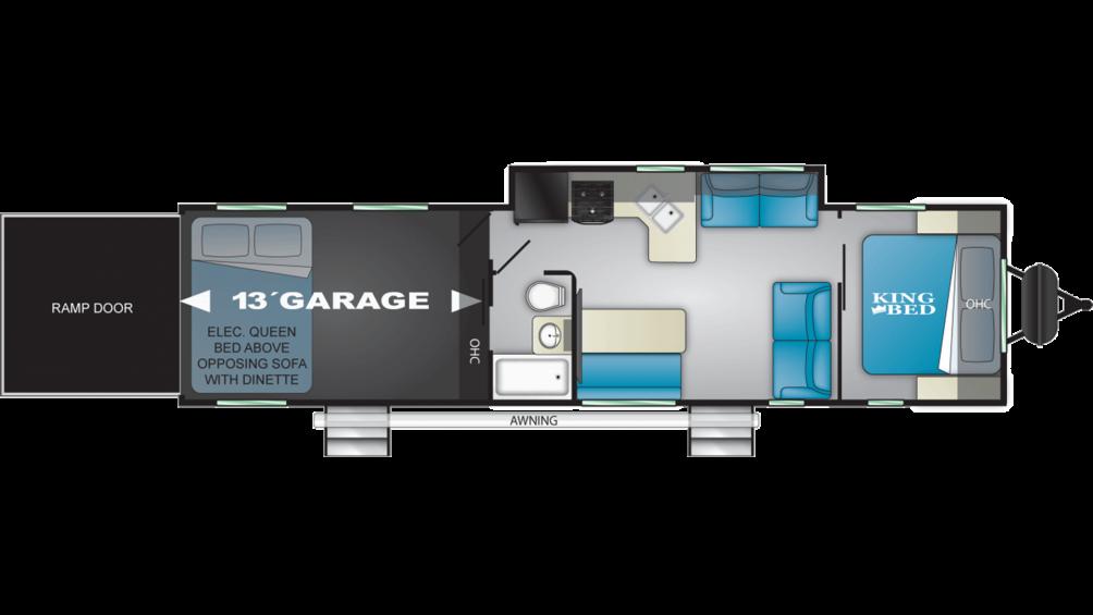 2020 Torque XLT T333 Floor Plan Img