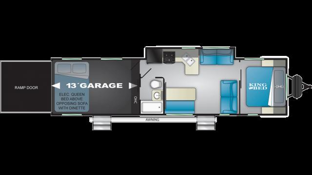 2020 Torque XLT T333 Floor Plan