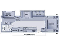 2006 Jay Flight 31BHDS Floor Plan