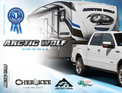2018 Forest River Arctic Wolf RV Brochure Cover