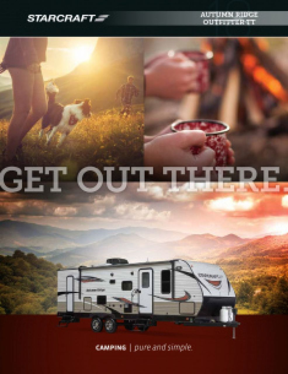 2019 Starcraft Autumn Ridge Outfitter RV Brochure Cover