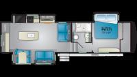 2020 Bighorn Traveler 32GK Floor Plan