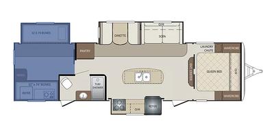 Bunkhouse Floor Plan