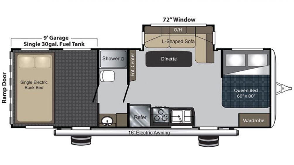 Carbon 27 Floor Plan - 2016