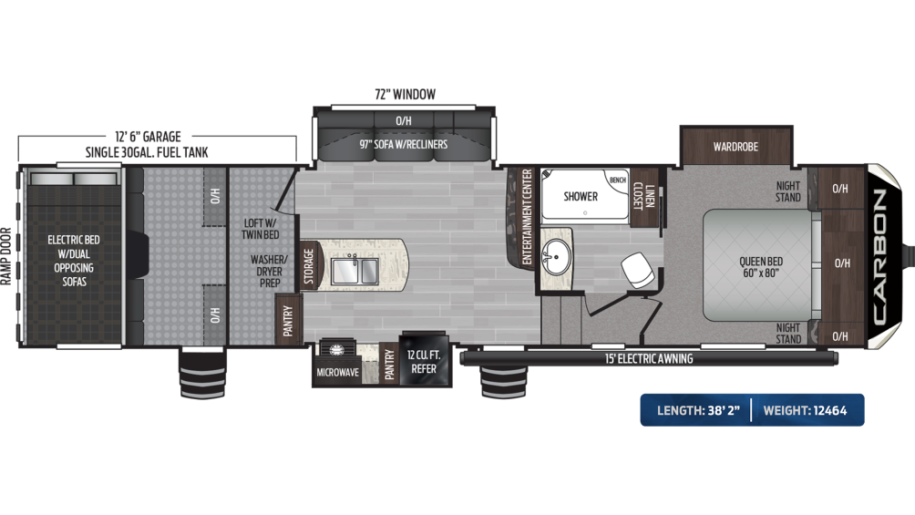 Carbon 347 Floor Plan - 2020