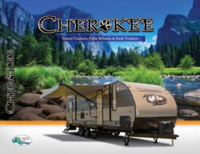 2017 Forest River Cherokee RV Brand Brochure Cover