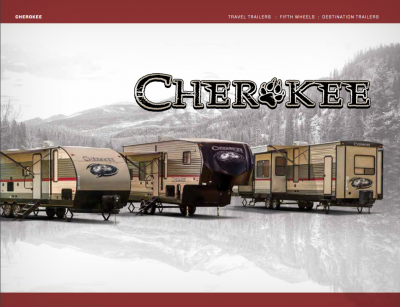 2018 Cherokee Brochure Cover