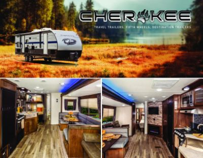 2019 Forest River Cherokee RV Brochure Cover