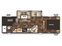 2015 Cherokee 274DBH Floor Plan