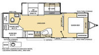 2016 Catalina 273DBS Floor Plan