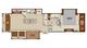2017 Chaparral 336TSIK Floor Plan