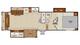 2018 Chaparral Lite 29RLS Floor Plan