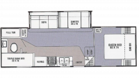 2004 Spirit of America 525TBS Floor Plan