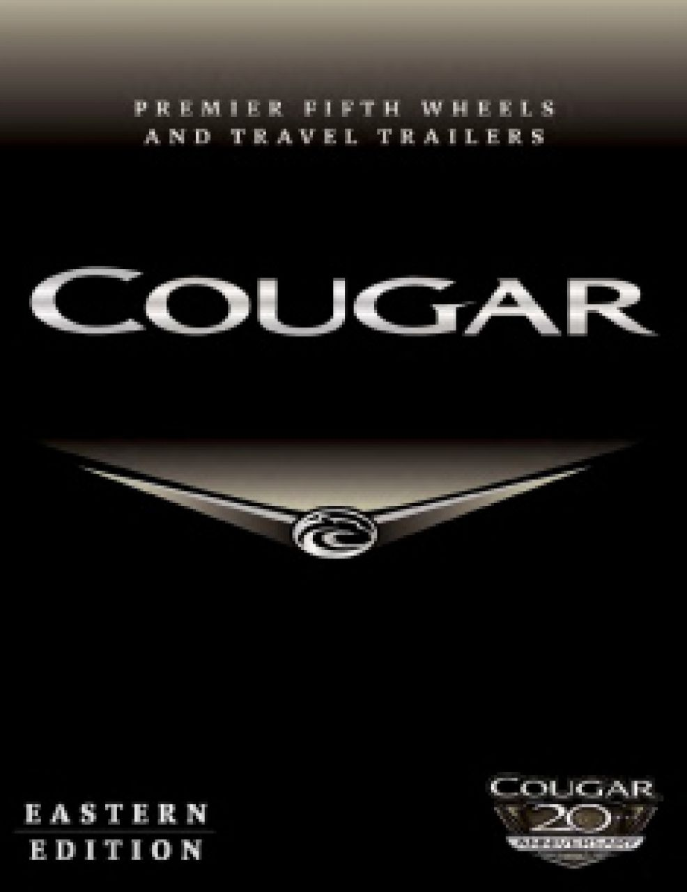 2019 Keystone Cougar RV Brochure Cover