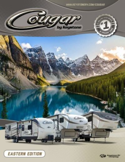 2018 Cougar RV brochure cover