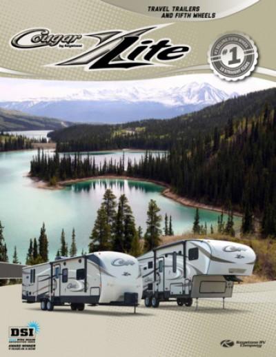 2017 Keystone Cougar Xlite RV Brand Brochure Cover